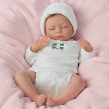 "Ashley Breathing Lifelike Baby Doll: So Truly Real - 17"" by Ashton Drake NRFB"