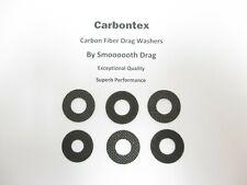 DAIWA REEL PART Tanacom Bull 1000 (6) Smooth Drag Carbontex Drag Washers #SDD170