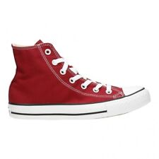 Converse Chuck Taylor All Star Hi Shoes Maroon M9613c Sneaker Trainers UK 4