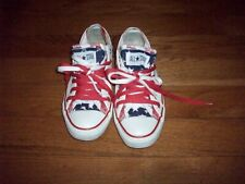 Converse All Star Unisex Low Top  White American Flag Sneakers Sz Mens 7 Wo's 9