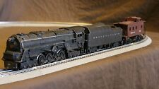 Lionel O gauge 6-8-6  Train set  Possibly 671 Blacken out with caboose