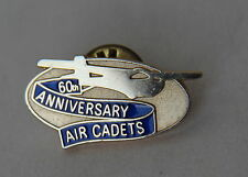 Air Cadets 60th Year Anniversary Lapel Hat Pin