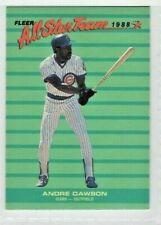 1988 Fleer All Star Team #6 Andre Dawson Chicago Cubs Baseball Card