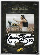 Richmond Hall of Fame Signature (SS08) Kevin SHEEDY 166 of 200