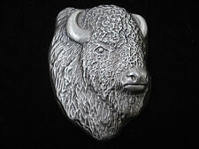 10 TR OZ Hand Poured Bison Bullion .999 Fine Silver Bar