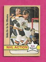 1972-73 OPC # 58 BRUINS BOBBY ORR ACTION  GOOD CARD (INV# C4919)
