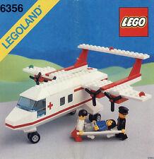 Lego Città   6356  Med-Star Rescue Plane (1988) Visita il mio Negozio