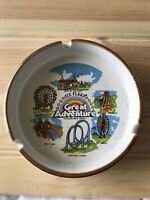 Vintage Six flaggs Great Adventure Jackson New Jersey Ashtray