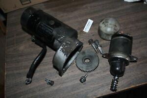 Harley FXR 1985 FXRP starter motor + solenoid Harley FXRT FXRD Police EPS23843