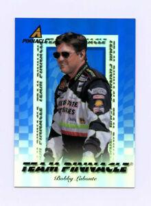 Bobby Labonte & Jimmy Makar 1997 Team Pinnacle Blue Acetate Insert Card 1:240 Pk