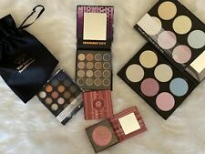 BH Cosmetics Lot Of 3 Blacklight Highlight, Midnight City, Floral Blush Palettes