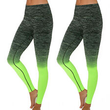 Women Capri Cropped Leggings Yoga Pants for Gym Fitness Workout Wear S M L XL