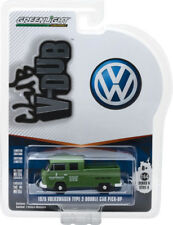 GREENLIGHT 1:64 CLUB VDUB 1975 VW TYPE 2 CREW CAB PICK-UP VW BODY REPAIR 29890-D