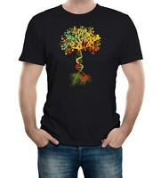 Tree of Life Men's T-Shirt DNA Genetic Code Biology Earth Nature Science