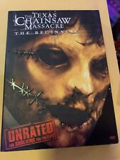 The Texas Chainsaw Massacre: The Beginning (DVD, 2007, Unrated). With Slipcover