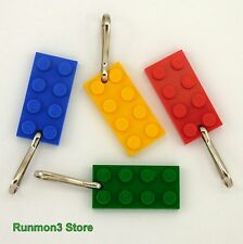 Zipper Pulls Lego Pendant Birthday Party Favor Backpack Purse Book Bag Prize Vbs