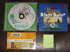 Stray Sheep The Adventure of Poe and Merry - Playstation PS1 PSX JP Japan Import