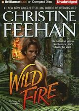 Leopard: Wild Fire 4 by Christine Feehan (2010, CD, Unabridged)