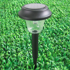 Solar Powered LED Light Lamp Landscape Walkway Pathway Garden Patio Set of 2Pcs