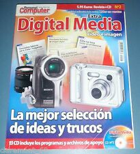 PERSONAL COMPUTER EXTRA DIGITAL MEDIA nº2 + CD