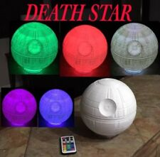3D Printed StarWars Death Star Multi color  LED Lamp With remote