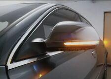 AUDI A3 8P A4 A5 A6 Q3 FRECCE LED DINAMICHE PER SPECCHI LATERALI LOOK FUME