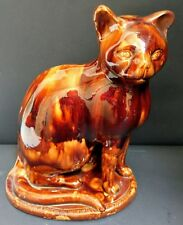 Extremely Rare Large Antique Earthenware Cat c. 1830