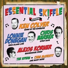 2 CD BOX ESSENTIAL SKIFFLE COLYER DONEGAN BARBER KORNER VIPERS McDEVITT ETC