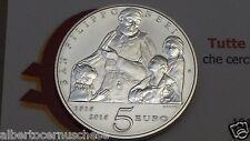 5 euro argento fdc Italia 2015 500 Filippo NERI Italien Italie Italy Италия 意大利