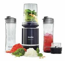 Pro Food Prep Personal Blender with Mini Food Processor + Spice Grinder BPA Free