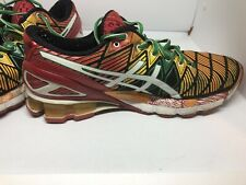 Mens Asics running shoes GEL-KINSEI 5 multi color size 7 1/2 us Rare See Wear s4