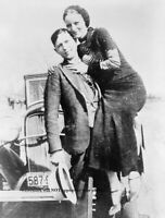 1933 Bonnie Parker Clyde Barrow PHOTO Gangster Bonnie and Clyde Gang Playful