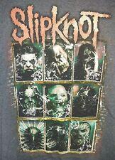 Slipknot Skill Blue/Gray Short Sleeve T-Shirt, Size M Men's 5 The Gray Chapter