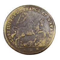 Jeton de Compte Henri IV 1609 Token France