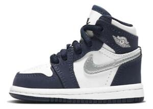 Nike Air Jordan 1 Retro High OG (TD) CO.JP 'Midnight Navy' Shoes AQ2665-141