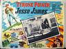 WESTERN /JESSE JAMES/TYRONE POWER/1939/MEXICAN LOBBY CARD/HENRY KING