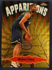 Michael Finley Apparitions Bronz Chrome Basketball Card A10