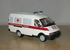 1/43 GAZ-32214 Ambulance Kherson Van Models USSR Russian model Херсон ГАЗ Газель