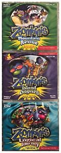 3 Zoombinis Logical Journey Mountain Rescue Island Odyssey Pc Sealed New Win10