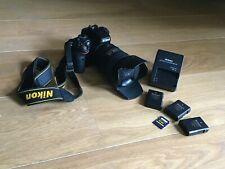 Appareil photo numérique Nikon D5100 + objectif DX AF-S Nikkor 18-200mm