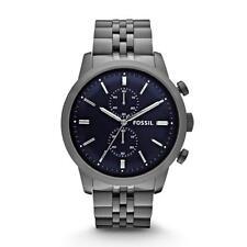 Fossil Quarz-(Batterie) Armbanduhren aus Edelstahl für Herren