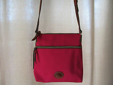 Dooney & Bourke Purse Nylon Crossbody Pink In264 PK