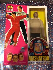SIX MILLION DOLLAR MAN ENEMY MASKATRON FIGURE WITH NEW BOX BIONIC 1975 COMPLETE!
