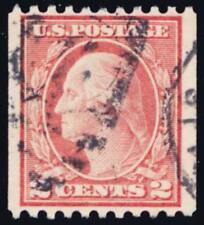 488, Used 2¢ Washington XF Quality Coil Stamp - Stuart Katz