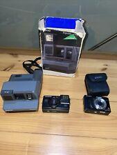 Job Lot Of Cameras - Polaroid, Sony, Hanimex VXL - Untested Vintage / Retro