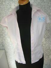 La Martina Bluse Shirt w. NEU Gr.: M 38 TOP rosa blau edel LA MARTINA