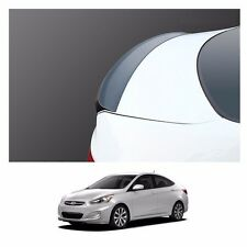 New Rear Trunk Wing Lip Space Spoiler for Hyundai Accent 2012-2016 - White