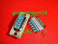 500PC 9 Pin D-SUB Male DB9M Solder Type Connector DB9 (C42)