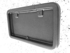 Cargo Trailers & RV Square License Plate Bracket bezel holder w/ Built in Light