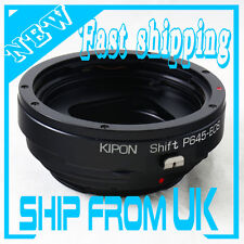 Kipon Shift Lens Mount Adapter From Pentax 645 P645 to Canon EOS EF 5d III 6d